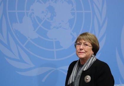 Bachelet pide al Gobierno respetar la libertad de expresión ante la jornada de protestas contra Morales