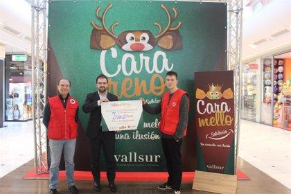 Vallsur hace entrega de una donación para el proyecto `Promoción del Éxito Escolar de Cruz Roja Juventud