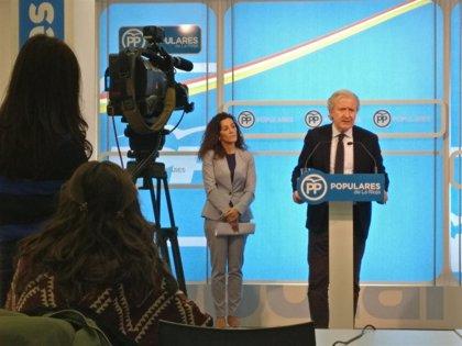 """El PP asegura el Gobierno de Sánchez """"quita el dinero a los riojanos para pagar a Rufián y Puigdemont"""""""