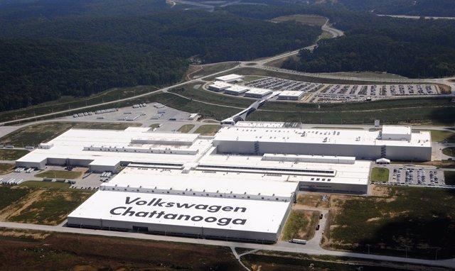 Planta de Volkswagen en Chattanooga (EE.UU.)
