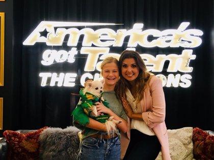 La cantante Cristina Ramos, ganadora de 'La Voz México' debuta en 'America's got talent: The champions'