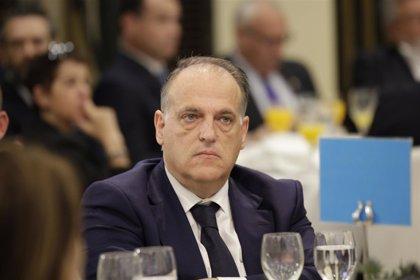 """Tebas: """"No procede que el presidente del Real Madrid se queje al de la Federación, no es el camino"""""""