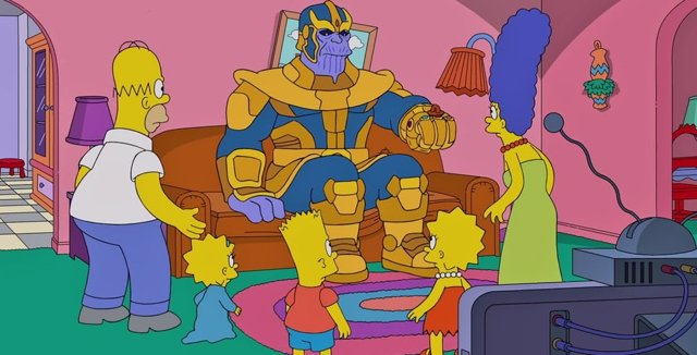 Los Simpson y Thanos