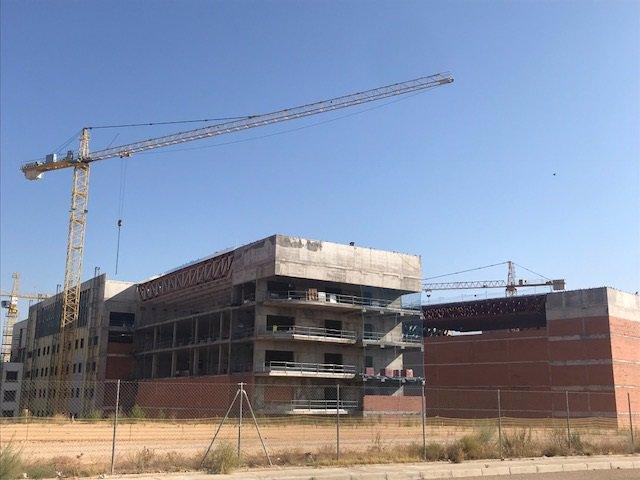 Hospital Universitario Toledo, obras