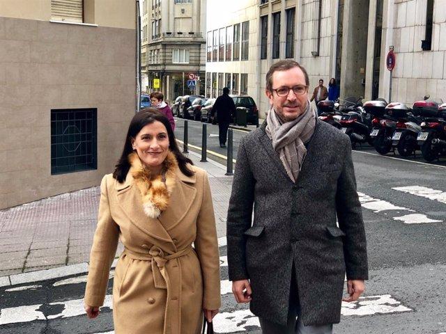 Maroto acompaña a la alcaldesa de Santander a la visita a la Cocina Económica