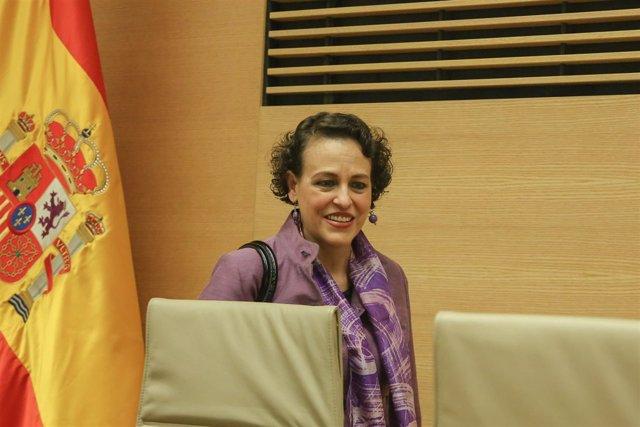 Comparecencia de Magdalena Valerio en Comisión de Trabajo, Migraciones y Segurid