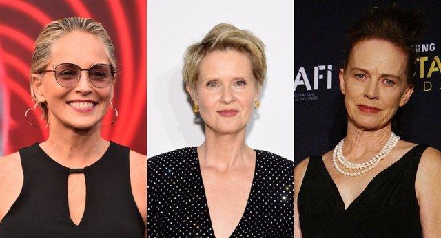 Sharon Stone, Cynthia Nixon y Judy Davis