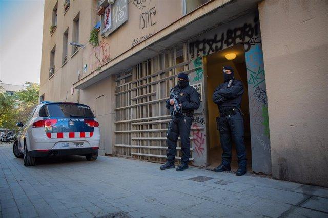 Operación contra el yihadismo en el centro de Barcelona