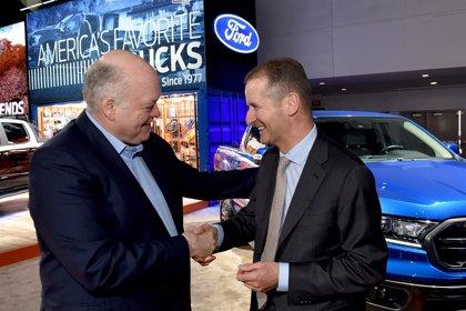 Ford y Volkswagen lanzarán en 2022 su primer 'pick-up' conjunto y estudian colaborar en furgonetas