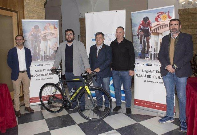 Presentación de la Vuelta de Andalucía 2019
