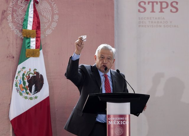 Mexican President Obrador opens Youth Building the Future Program