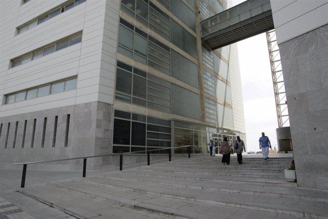 Edificio de los juzgados V Centenario en Melilla