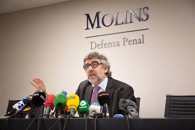 Jordi Pina, abogado