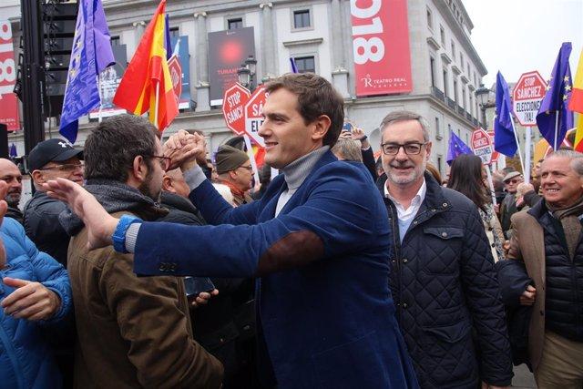 Rivera participó en noviembre en el acto en madrid