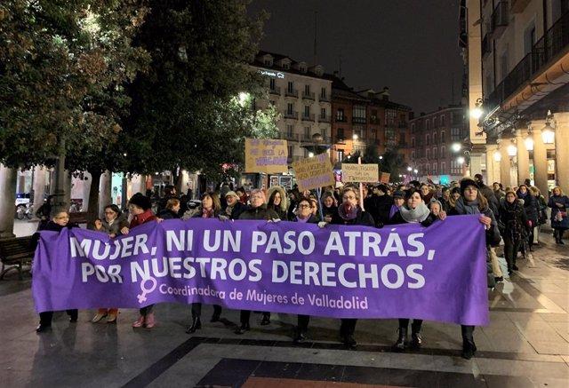 Valladolid.- Concentración ' Nuestros derechos no se negocian'  15-1-19