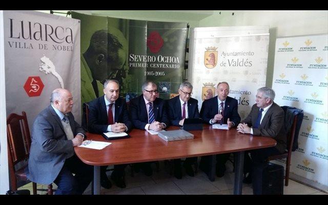 La UVA dona al Museo Severo Ochoa material audiovisual y gráfico de la investidura del científico como Honoris Causa