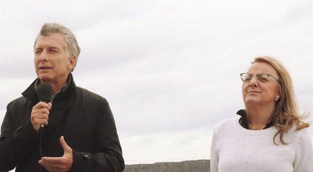 Mauricio Macri y Alicia Kirchner