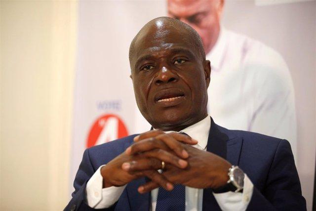 Martin Fayulu, candidato opositor a la Presidencia de RDC