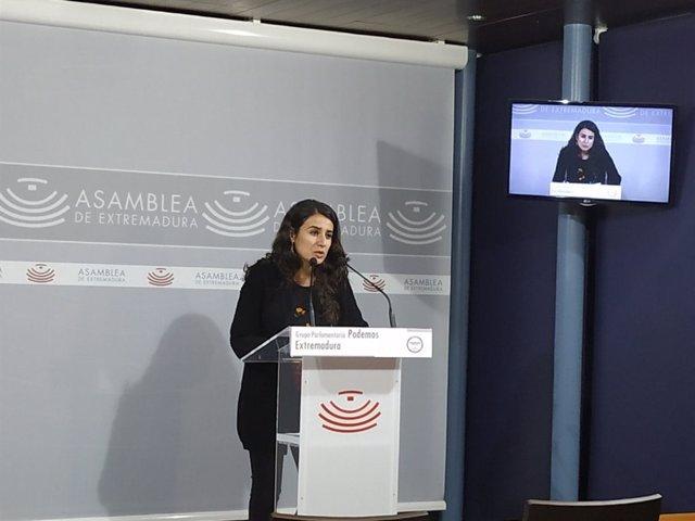 Presidenta Grupo Podemos, Irene de Miguel