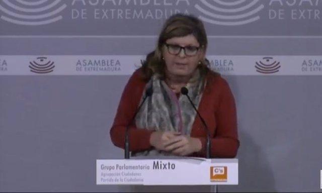 Diputada de Ciudadanos, María Victoria Dominguez