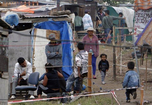 Pobreza en Villa Lugano, Buenos Aires