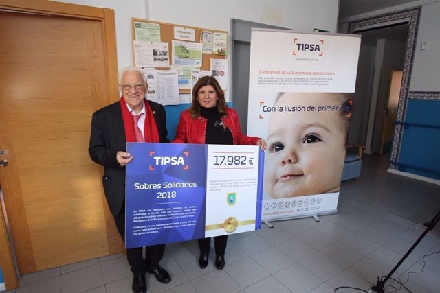 TIPSA dona más de 30.000 euros a cuatro ONG a través de su campaña de sobres sol