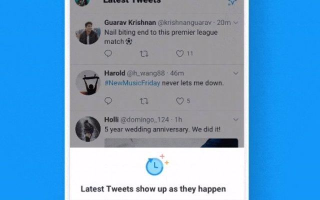 Twitter introduce en Android el botón que permite cambiar entre los tuits más destacados y los últimos publicados
