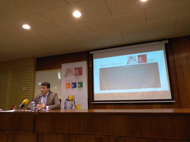 Presidente del Colegio de Aparejadores de Mallorca, Daniel Tur