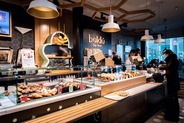 El nou establiment Boldú a l'Aeroport de Barcelona-el Prat.