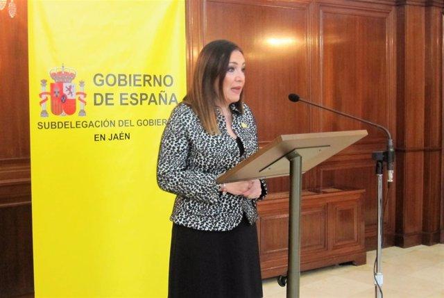 La subdelegada del Gobierno en Jaén, Catalina Madueño.