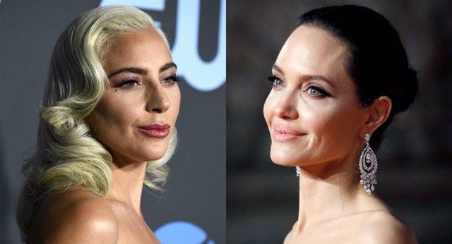 Lady Gaga y Angelina Jolie