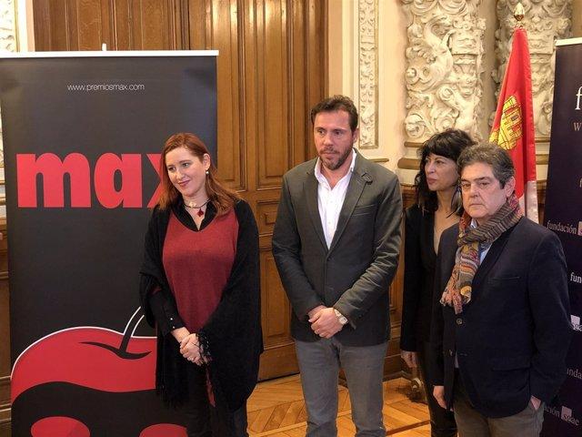Presentación de los Premios Max, 16-1-19