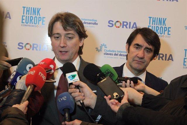 Carlos Martínez, alcalde de Soria.