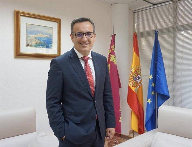 El delegado del Gobierno, Diego Conesa