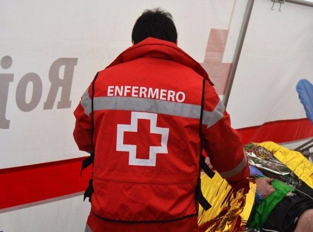 Enfermero de la Cruz Roja