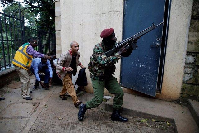 Ataque terrorista en un hotel de Nairobi