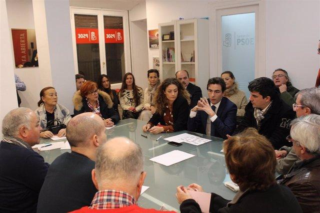 Casares en Comité Electoral PSOE