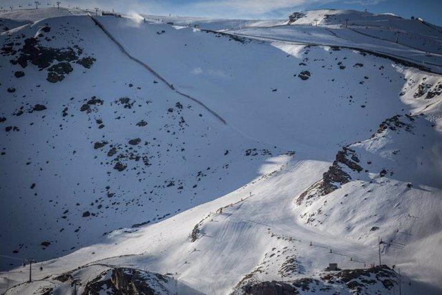 Pistas negras de Sierra Nevada