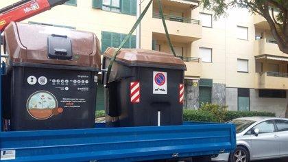 Calen foc a altres set contenidors a Palma