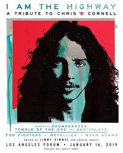 Así fue el homenaje a Chris Cornell en Los Angeles con Metallica, Foo Fighters y muchos más amigos