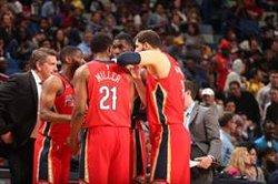 Mirotic i Ibaka signen les millors actuacions en una nit espanyola a l'NBA plena de derrotes (NEW ORLEANS PELICANS - Archivo)