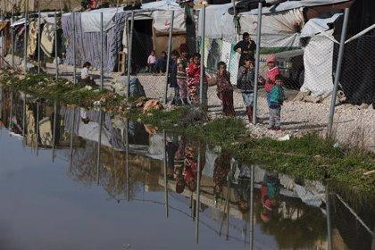 UNICEF alerta de que 40.000 niños están en riesgo por el frío extremo en Líbano