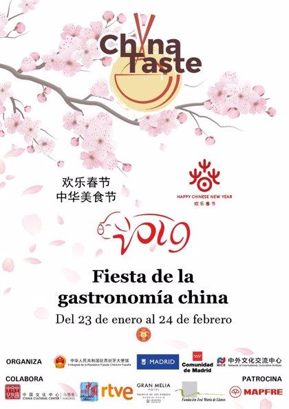 'China Taste' arranca el 23 de enero con 14 restaurantes que elaborarán menús típicos para el Año Chino