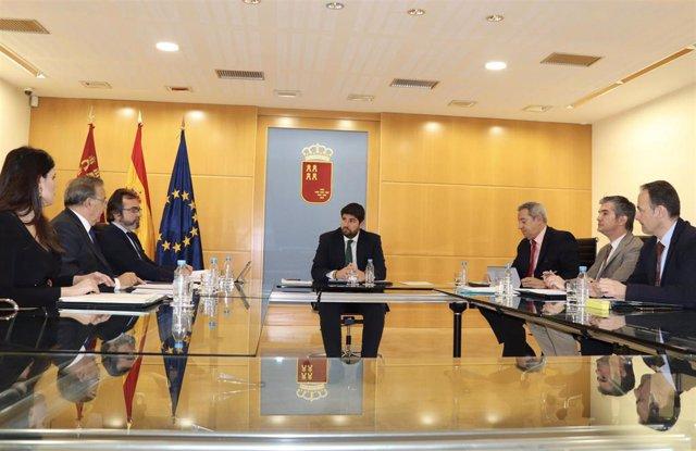 López Miras Presidede La Reunión Comisión Delegada Para Asuntos Económicos