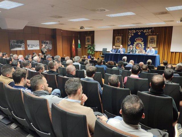 Comité provincial de Jupol en Sevilla