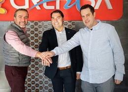 Agustín Gregori, CEO Grefusa, Jordi Díaz y Carles Pons, de Play&Go Experiencie