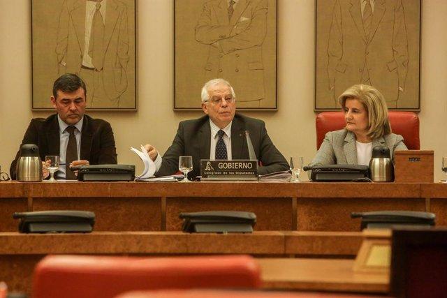 Compareixena de Josep Borrell a la Comissió d'Afers Exteriors