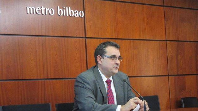 Eneko Arruabarrena, director de Metro Bilbao