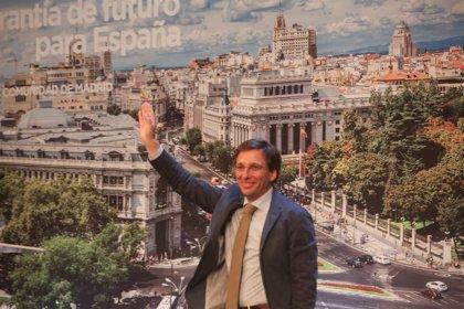 """Almeida ve en la nueva candidatura de Errejón un """"hito"""" en """"el proceso de blanqueamiento de la izquierda radical"""""""