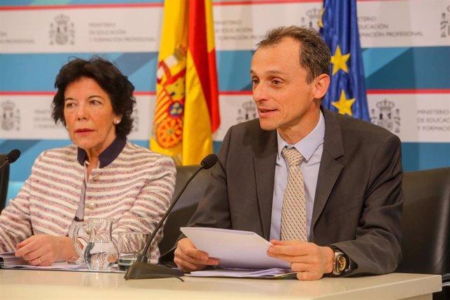 Presentación de las medidas sobre Educación, Ciencia, Jóvenes y Deporte incluida